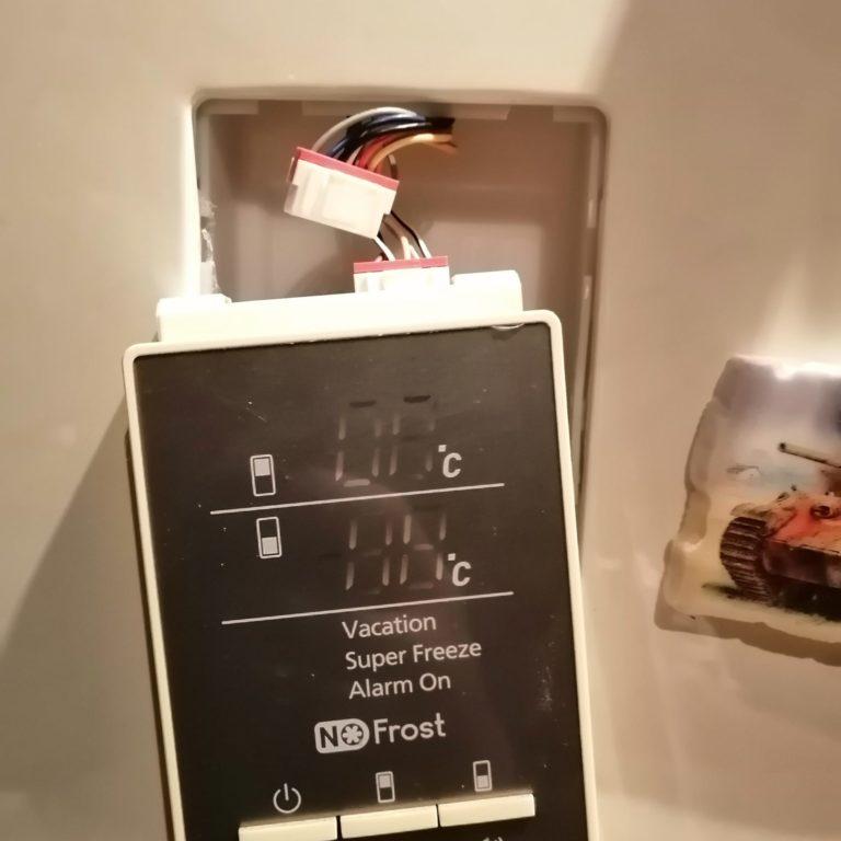 Ремонт модуля управления в холодильнике SAMSUNG